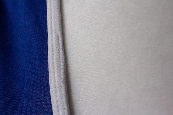 Vintage 1970s Nautical T-Shirt Dress - image 7