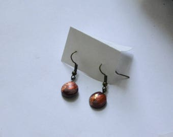 Hand-painted Mini Polymer Clay Earrings