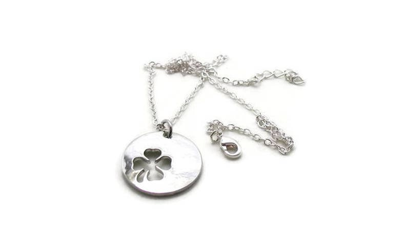 Mother Daughter Jewelry Four Leaf Clover Jewelry Necklace Set Mother Daughter Necklace Mother Daughter Pendant Lucky Charm Necklace