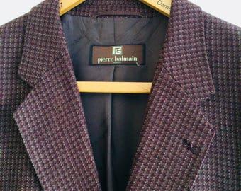 Vintage Balmain blazer   Pierre Balmain jacket  Designervintage   Balmain Paris   vintage designerjasje
