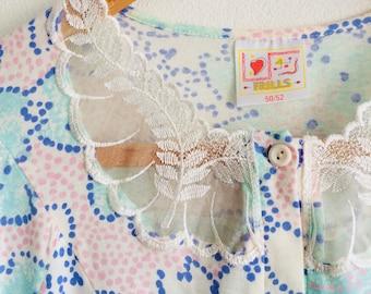 Vintage nachtjapon | vintage nightwear | vintage dress | 70s