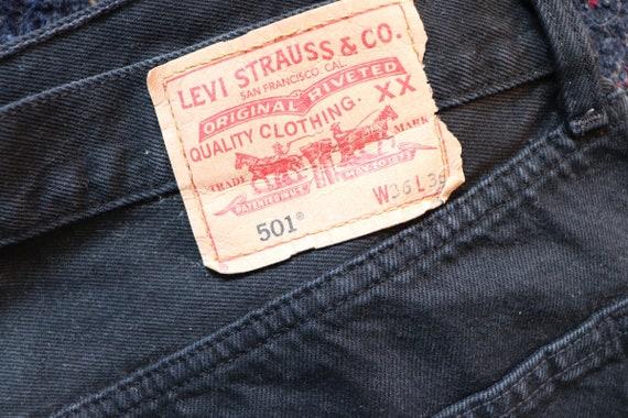 Vintage Levi's 501 | 501 w36 L 36 | vintage plussi