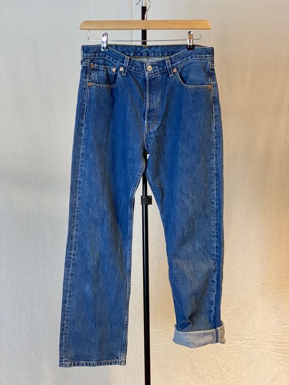 Vintage 90s Levi's 501 | unisex jeans | W33 L30 |