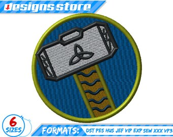 HULK EMBROIDERY DESIGNS Superhero logo machine embroidery | Etsy