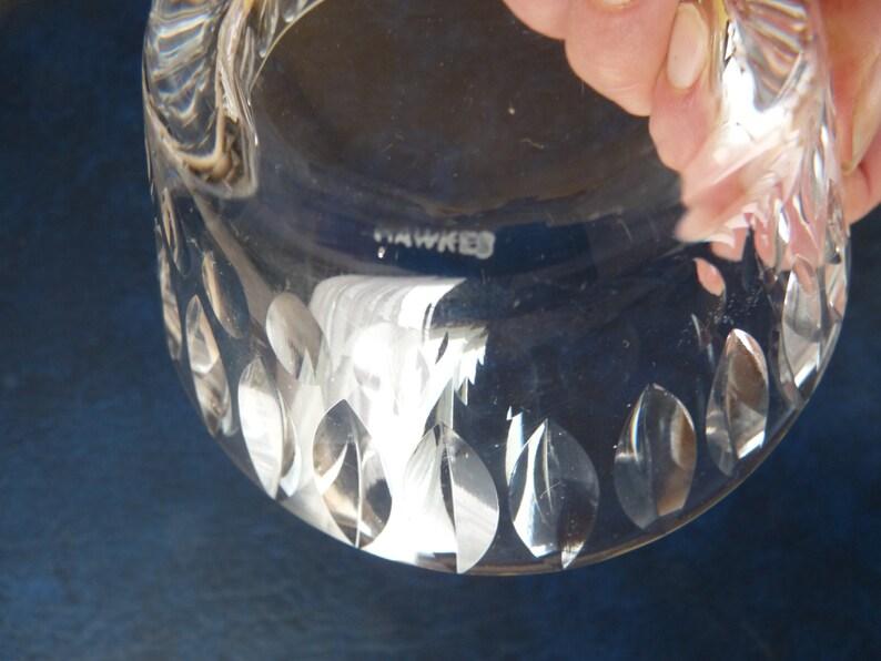 Rare, signé HAWKES Sierra #7240 motif - Lot de deux - remplacement - 4» Berry, Sorbet, sorbet, Dessert plats ou bols de doigt