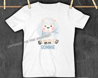 Organic Kids T-shirt Graphic Tees Children/'s Gift Tri-Blend Unisex Kids Sheep Tee Lamb Shirt Children/'s Animal Shirt