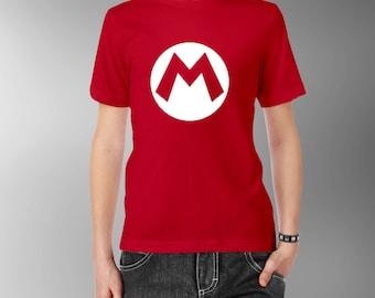 Nintendo Mario or Luigi Kids Tee T-Shirt T Shirt