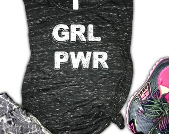 GRL PWR Women's Muscle Tank -