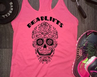 deadlift workout tank, deadlift tank, workout tank top, womens workout tank, womens gym tank, workout tank womens, gym tank top, workout