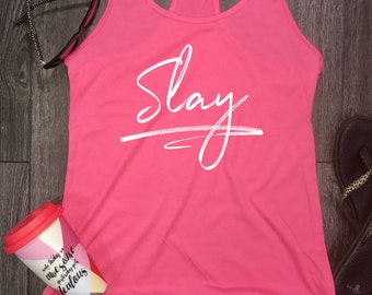 tank tops for women, slay, racerback tank, womens tank top, workout clothes for women, stylish tank, yoga clothes, tank top, gym tank