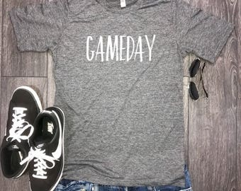 Gameday men's shirt... weekend shirt, brunch shirt, funny shirt for men, weekend vibes, football sunday, now we brunch, game shirt, game day