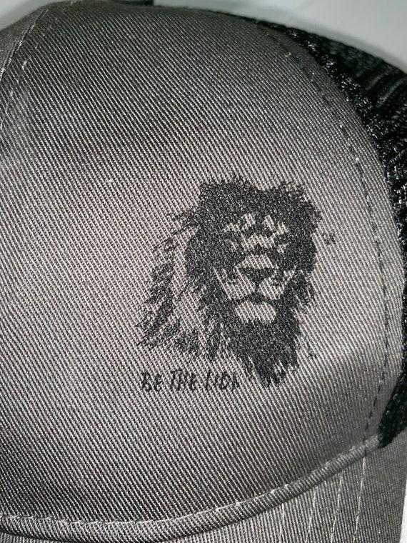 af83d5b30ec Be the Lion Motivational Hat Econscious Eco Trucker Organic