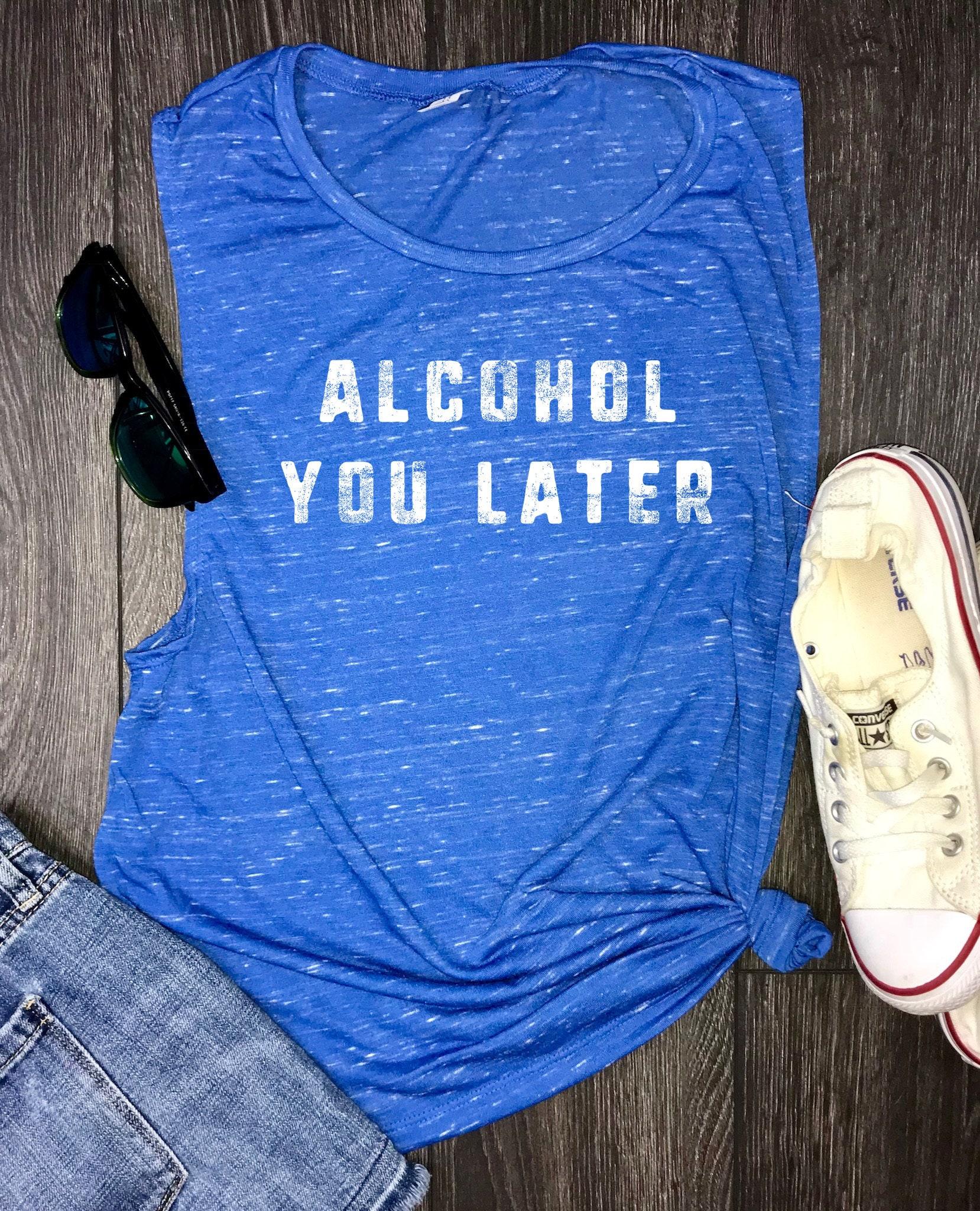 f40bbff1 shenanigans, tomfoolery, funny bride shirts, bridesmaid shirt, drinking  shirts, alcohol you later, vacation shirt, wine shirt, brunch shirt
