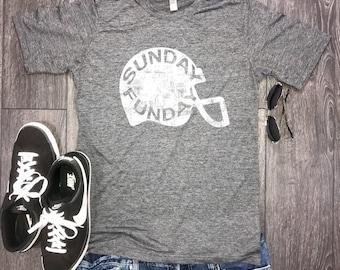Sunday funday men's football shirt... weekend shirt, brunch shirt, funny shirt for men, weekend vibes, football sunday, now we brunch