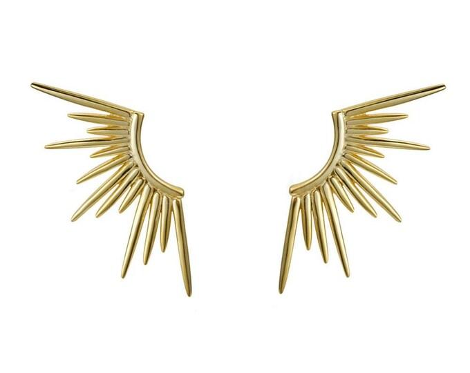 .| Pendientes 70's wings |.
