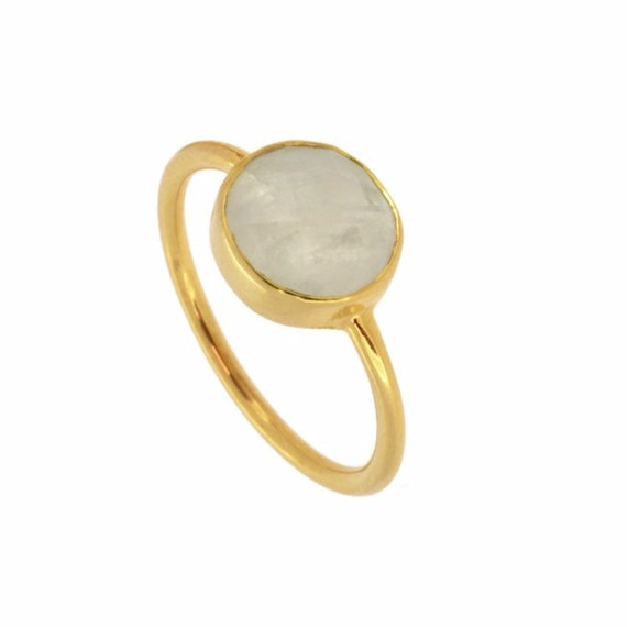 Saturn Stone Moon Ring
