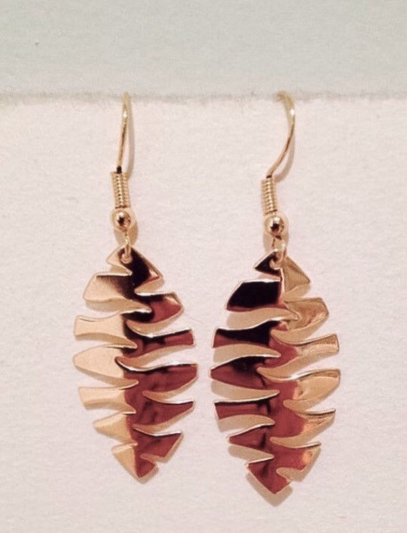 "Earring ""Autumn Leaf"""