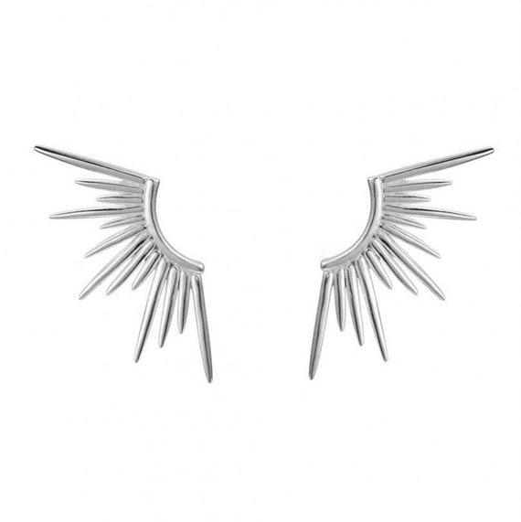 Pendientes 70's wings.