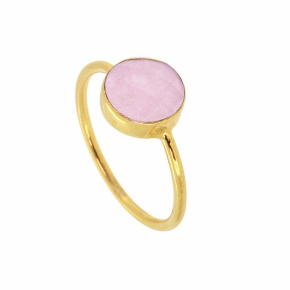 Saturn Ring Rose Quartz