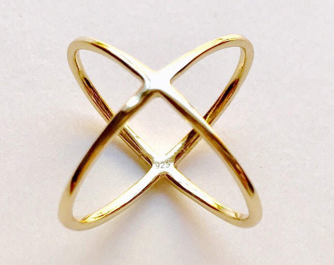 N3 sterling silver ring