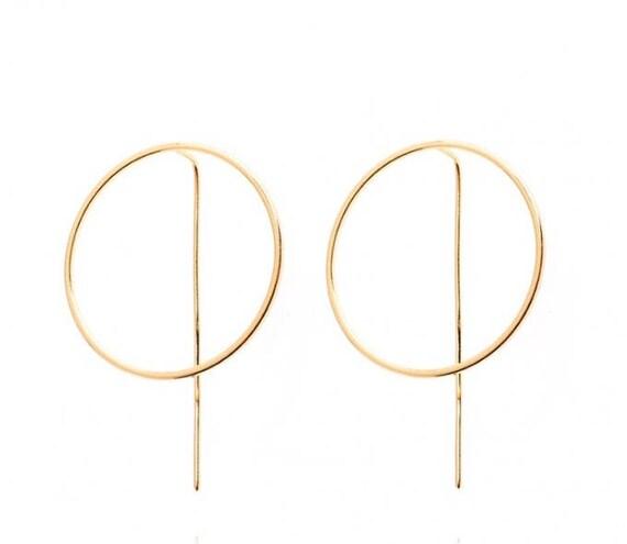 Hoop Earrings Glam N1