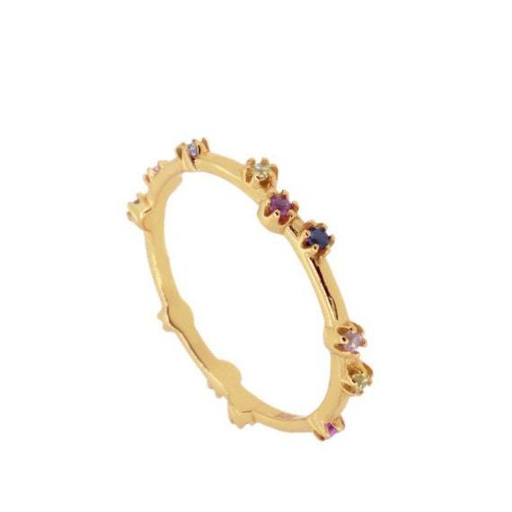 Petit ring, stones ring, stones ring