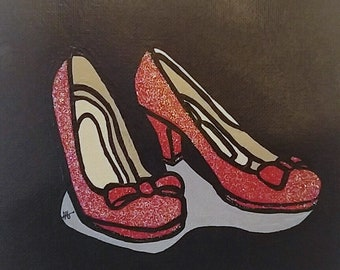 Ruby Slippers, Wizard of Oz, MADE TO ORDER