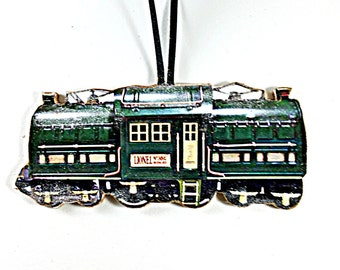 Zug Santa Fe Dieselmotor Masuyada Litho Blech Spielzeug Vintage Japan Batterie Sonstige