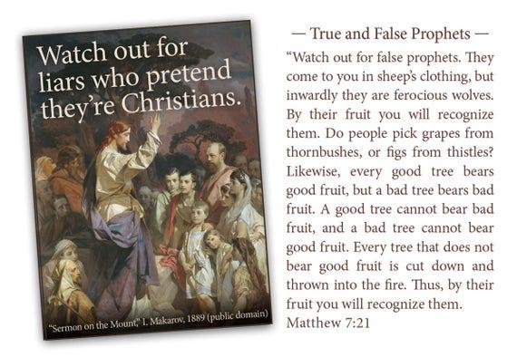 Modern Beatitudes Notecard Gift Set Six 4.25x5.5 notecards of modernized Jesus wisdom with optional Sermon on the Mount verses on back