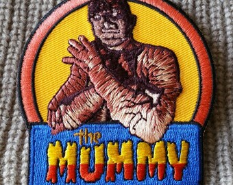Embroidered Cute Mummy Inspired Iron On Patch