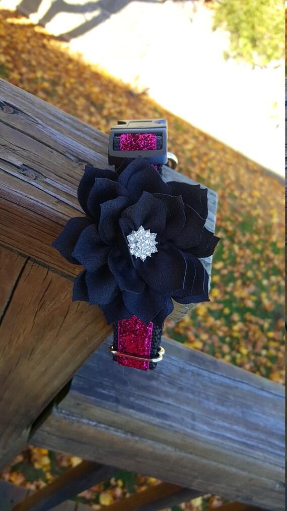 Fuschia Sparkle Lotus Flower Set Etsy