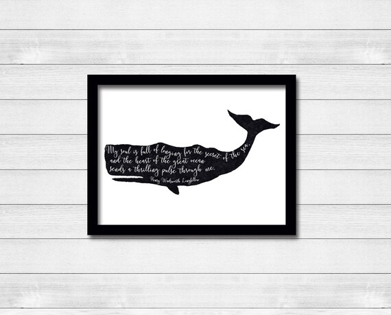 Art /& Loft Nantucket Whales Stretched Canvas Print