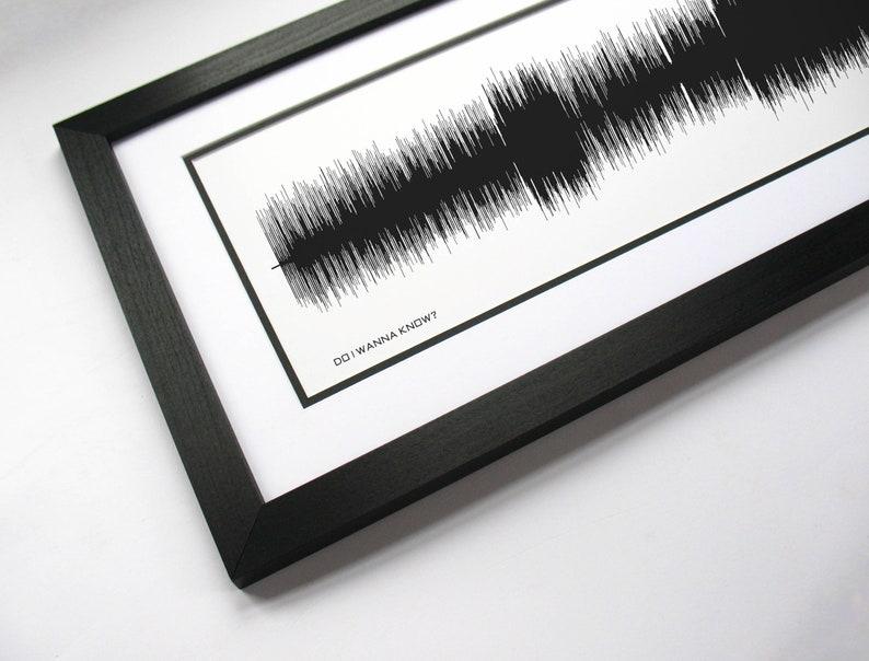 Do I Wanna Know - Arctic Monkeys Song Print, Sound Wave Music Poster, Lyric  Art