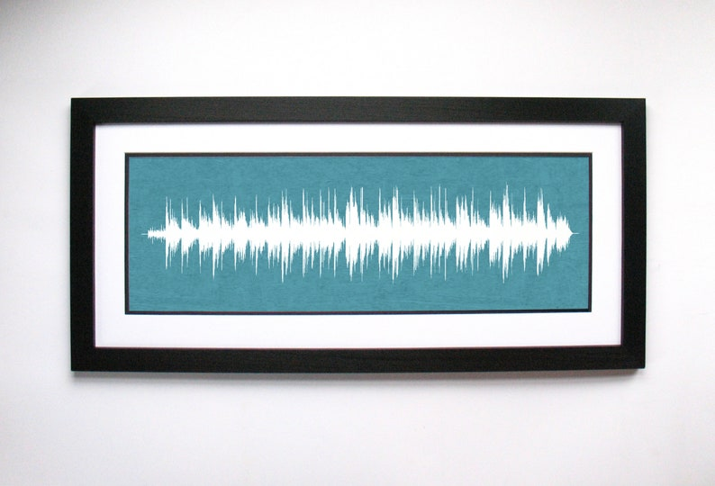 Girlfriend Birthday Gift Her Favorite Song In Sound Waves