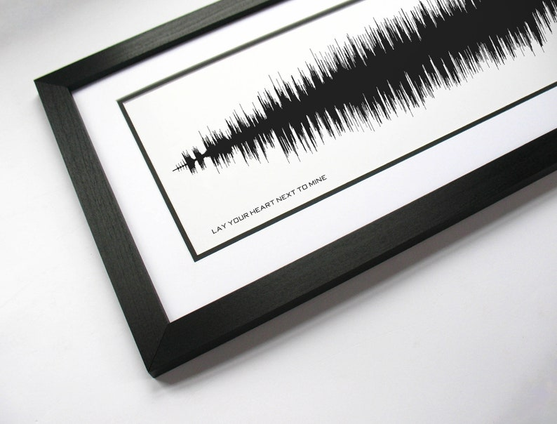 Music Lyric Poster Art Steve Azar Song Print Lay Your Heart Next To Mine