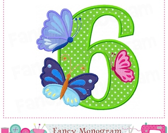 Butterfly Number 3 applique,Butterfly Easter applique My 3rd Birthday Butterfly applique Birthday Number 3 Easter applique design.