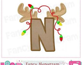 Letter N Applique Etsy