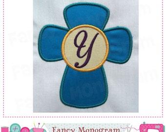 Cross Letter Y AppliqueCross Monogram AppliqueYFont DesignEaster DesignYEaster CrossYEasterCross AppliqueBirthday 02