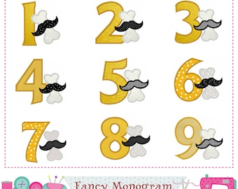 Puppy Birthday numbers,Dogs-food Numbers applique,Puppy Boy,Puppy,Puppy applique,Dog Food,Dog bone,Puppy design,Cookies for dogs.-boy