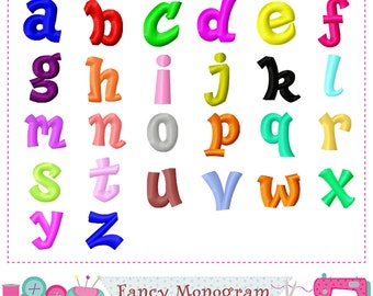 Lowercase Letters embroidery,Alphabet,Lowercase Letters a~z,Font,Lowercase design,Birthday letters,26 letters,Letters embroidery,26 Letters.