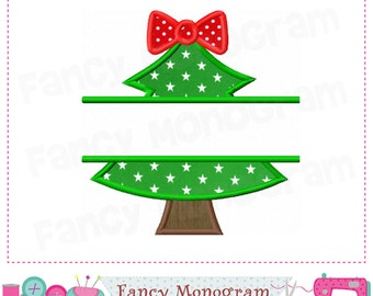 Christmas Tree,Split Christmas Tree,Christmas applique,Christmas Tree,Christmas embroidery,Christmas design,Christmas.-1641