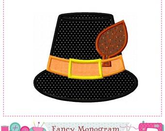 Pilgrim hat applique,Thanksgiving applique,Pilgrim hat,Pilgrim design,Pilgrim,Thanksgiving design. -01