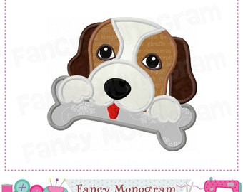 Puppy applique,Puppy design,Puppy embroidery,Puppy with bone,Dog,Pet applique,Pet design,Puppy with bone,Dog applique.-03