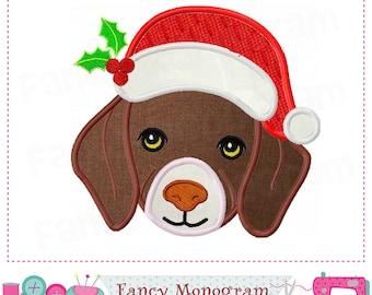 Christmas Puppy,labrador design,Puppy design,Golden retriever,Christmas applique,Puppy,Christmas,Pet applique,Pet design,Gog design. 17117