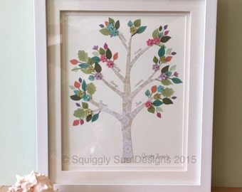 Personalised Family Tree Picture