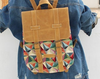 backpack boho bag