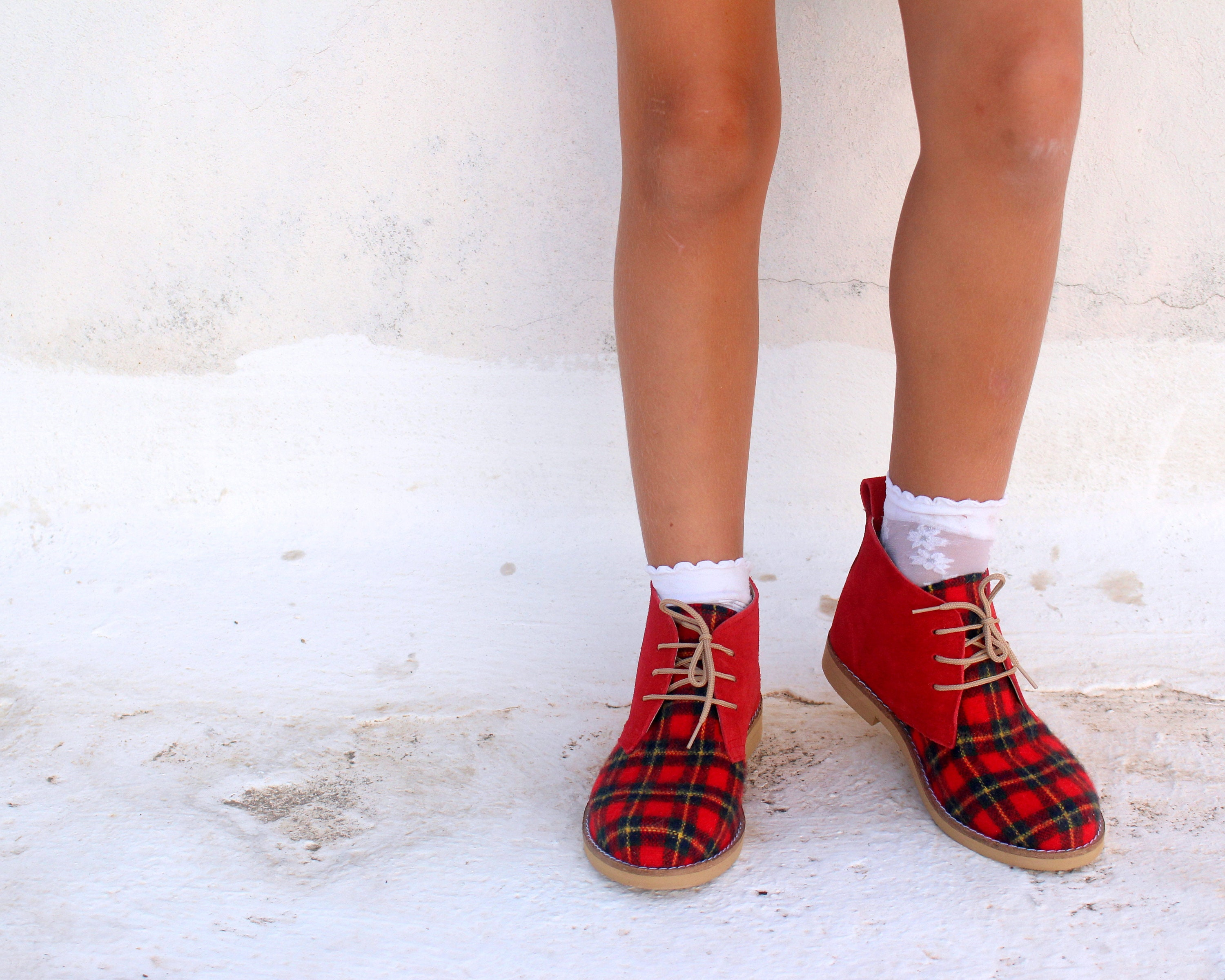 Christmas Shoes For Girls.Christmas Shoes For Girls And Woman Handmade Leather Ankle