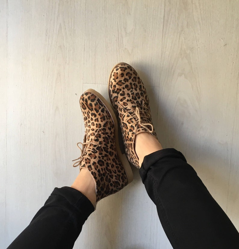 8c07c21ea65 Leopard booties for woman /animal print boots /velvet/handmade in Greece  /Vegan Shoes free shipping