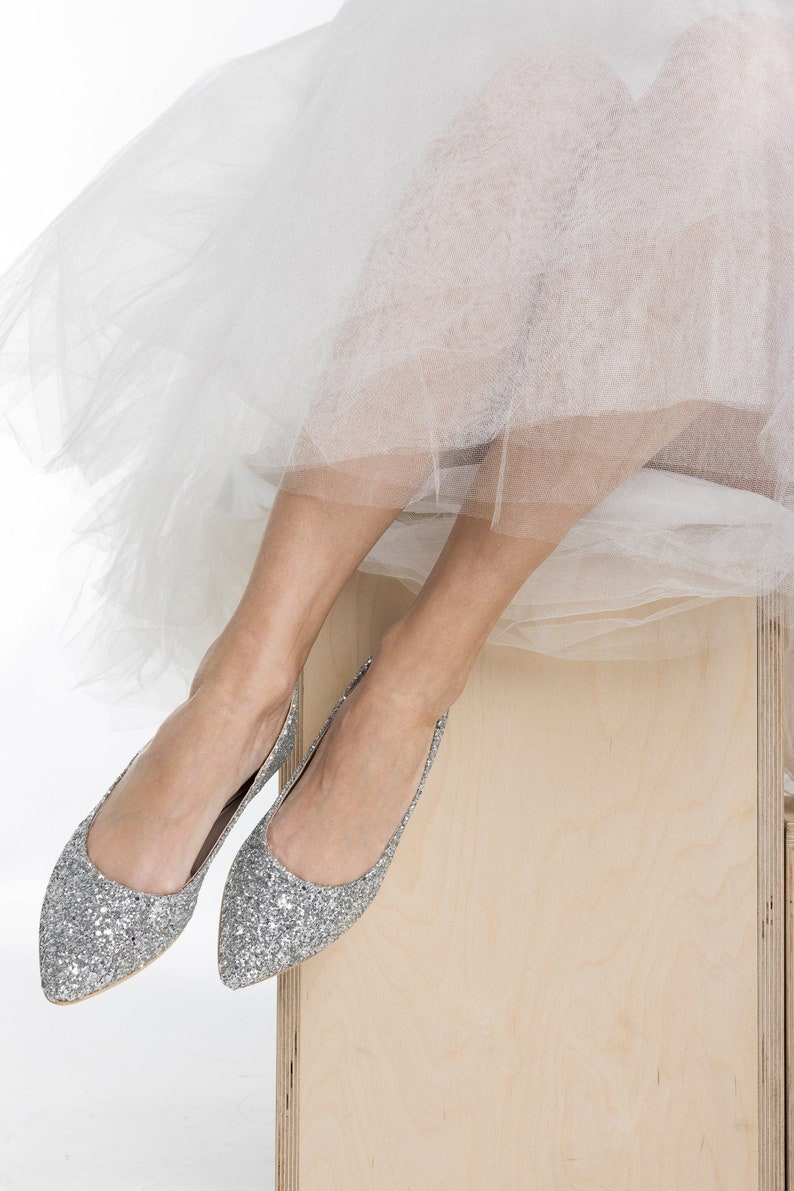 Ballerina Hochzeit silber