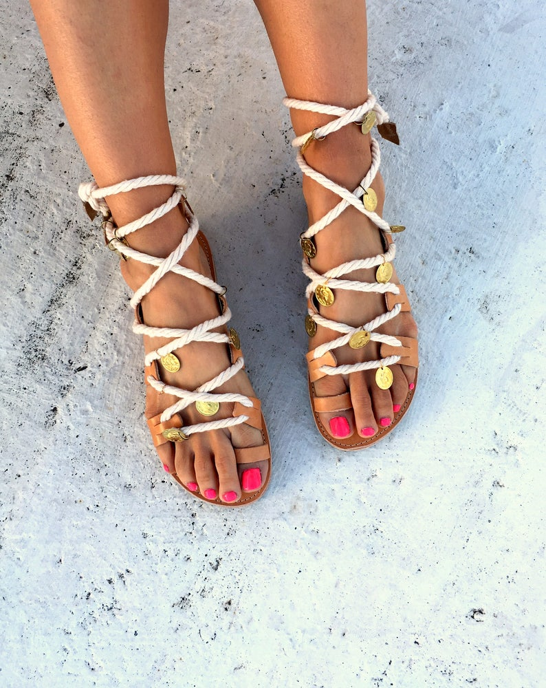 35faf9a2fa058 Woman sandals/Lace up Leather sandals/handmade sandals/gladietor /wedding  lace up sandals /aelia